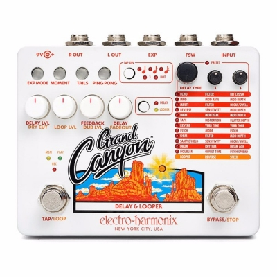 Electro-Harmonix Grand Canyon Delay and Looper 大峡谷 延时 LOOPER 效果器