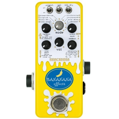 BANANANA EFFECTS CRAZY REVERB ABRACADABRA 疯狂混响 单块效果器