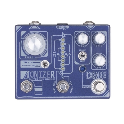 "Paradox effects IONIZER - CLIPPING FUZZ SEQUENCER  ""电离层"" - 削波 法兹 单块效果器"