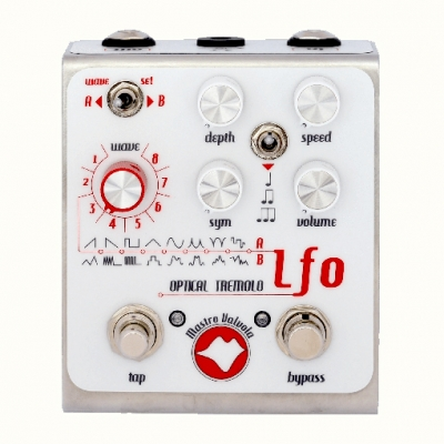 Mastro valvola LFO optical tremolo 震荡器 颤音 单块效果器