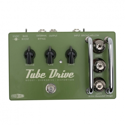 Effectrode TUBE DRIVE OVERDRIVE 电子管 激励 过载 失真 单块效果器
