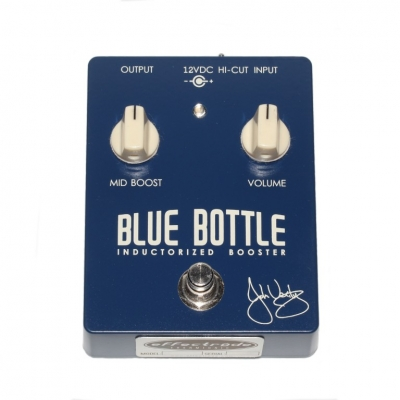 Effectrode BLUE BOTTLE INDUCTORIZED BOOSTER 电子管激励 推子 单块效果器