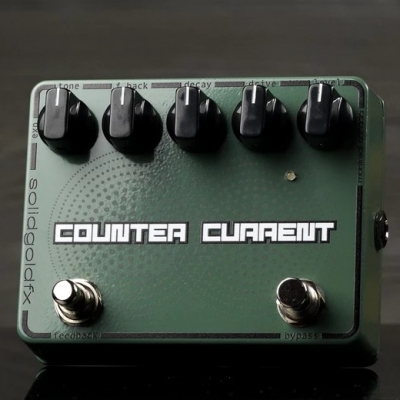 Solidgoldfx COUNTER CURRENT - REVERB / MOMENTARY FEEDBACKER 混响 回授 单块效果器