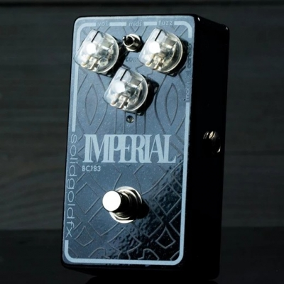 Solidgoldfx IMPERIAL - FUZZ 法兹 单块效果器
