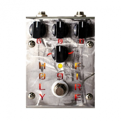 CREATION AUDIO LABS  HOLY FIRE 9 OVERDRIVE DISTORTION w/ CLEAN BOOST 过载 失真 激励 单块效果器