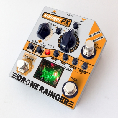 Rainger FX Drone Rainger Digital Delay 数字移调延时 单块效果器