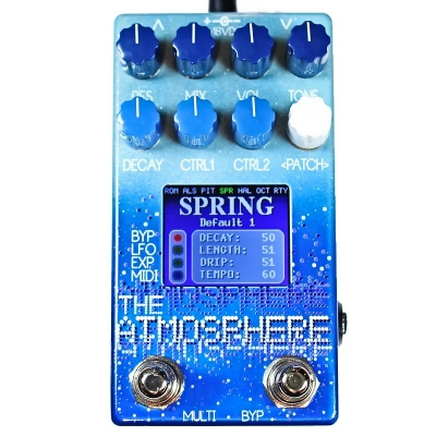 Dr. Scientist The Atmosphere reverb 混响 单块效果器