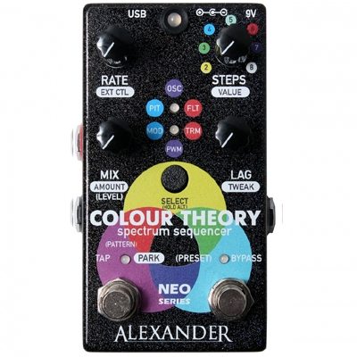 Alexander Colour Theory Step Sequencer 调制特效周边 单块效果器