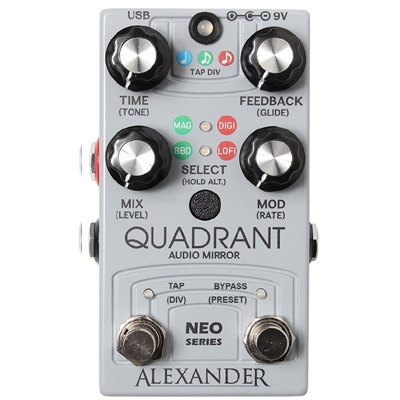 Alexander Pedals Quadrant Audio Mirror 延时 回声 单块效果器