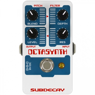 Subdecay Octasynth Octave synthesizer 八度 合成器模拟 单块