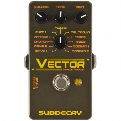 Subdecay - Vector Analog Preamp 前级模拟 单块效果器