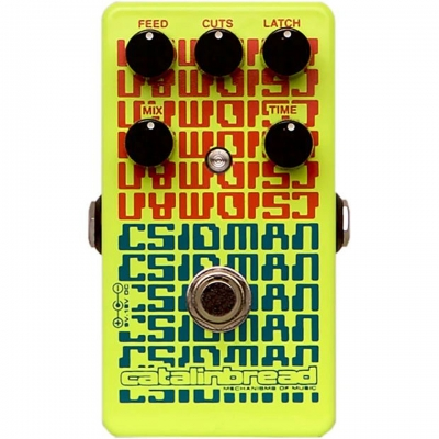 Catalinbread CSIDMAN Glitch Stutter Digital Delay 数字延时 单块效果器