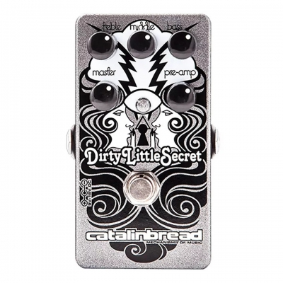 Catalinbread Dirty Little Secret Overdrive 过载 单块效果器