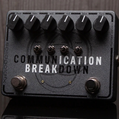 SolidGoldFX  COMMUNICATION BREAKDOWN 法兹 单块效果器