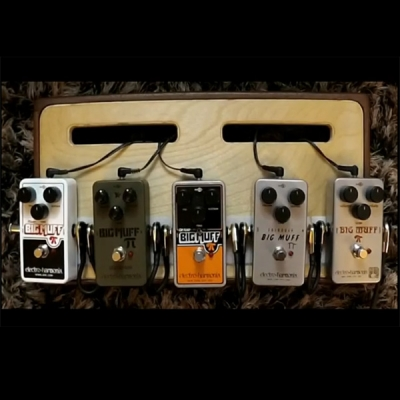 5款 EHX nano MUFF 对比测评 Nano, Green Russian, OpAmp, Triangle, Ram's Head